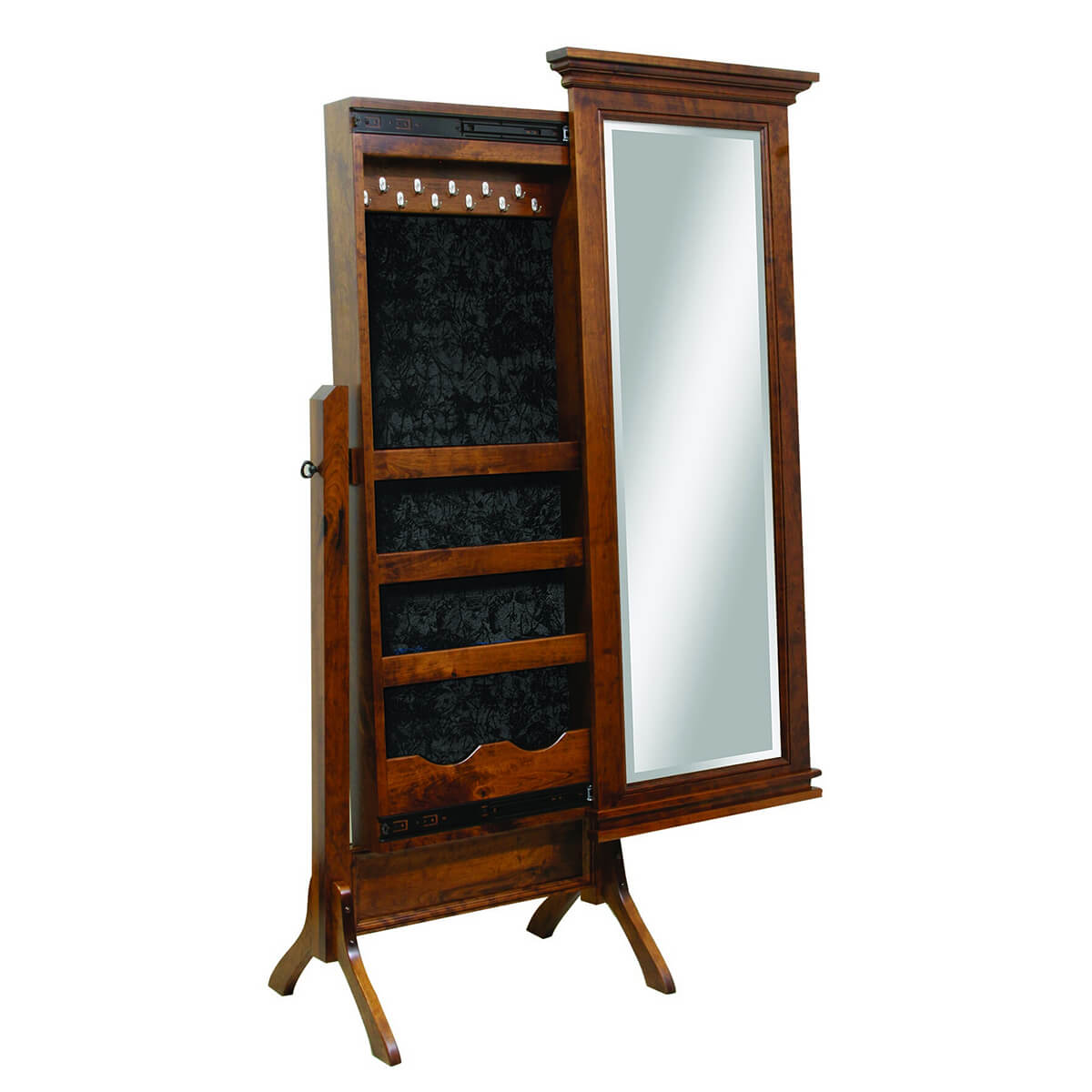 Amish Handcrafted Mirrors Frontier Furniture Overland